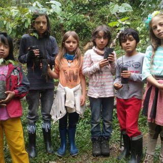 Tikapata school students were in the reserve